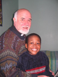 Godfrey and Father Keith